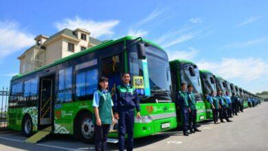 Photo of Шымкентте қала күніне орай автобустар жолаушыларды тегін тасымалдайды