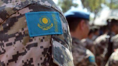 Photo of Казахстанские военнослужащие готовятся к участию в военном параде в Москве