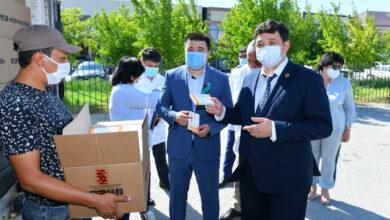 Photo of В Туркестан прибыло 142 тыс. коробок с лекарствами