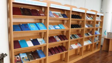 Photo of Зал Салыка Зиманова открыли в Национальной библиотеке