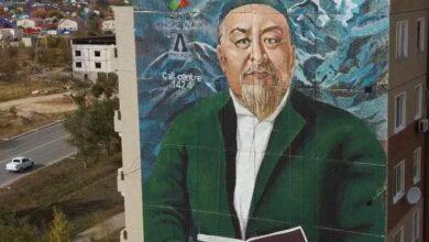 Photo of Мурал в честь великого Абая появился в Аксае