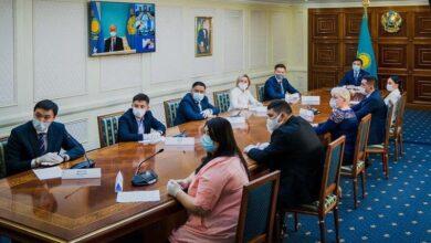 Photo of Президент елорда волонтерлерін «Халық Алғысы» медалімен марапаттады