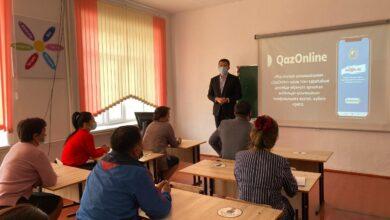 Photo of Жамбылцы изучают казахский язык с помощью мобильного приложения
