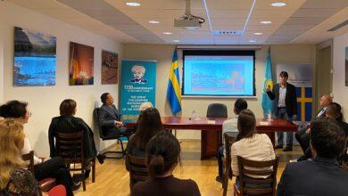 Photo of В честь 1150-летия аль-Фараби в Стокгольме состоялась лекция
