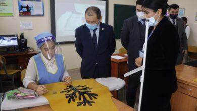 Photo of Б.Нұрымбетов Түркістан облысындағы халықты әлеуметтік қорғау саласының жұмысымен танысты