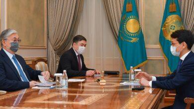 Photo of Мемлекет басшысы Бағдат Мусинді қабылдады