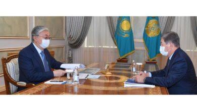 Photo of Мемлекет басшысы Ахметжан Есімовті қабылдады