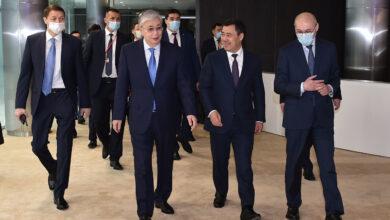 Photo of Қазақстан мен Қырғызстан президенттері «Астана» халықаралық қаржы орталығына барды