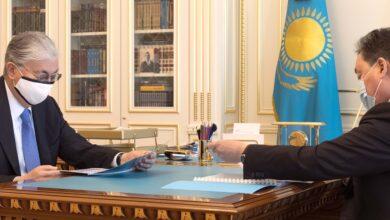 Photo of Мемлекет басшысы Асқар Маминді қабылдады