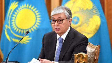 Photo of ҚР Президенті Алик Шпекбаевқа табысты қызметі үшін алғысын білдірді