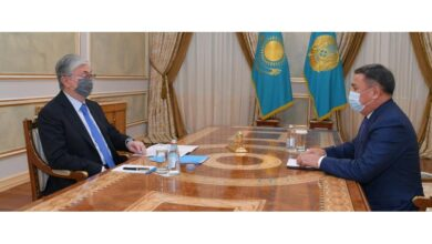 Photo of Президент Сыбайлас жемқорлыққа қарсы іс-қимыл агенттігінің төрағасын қабылдады