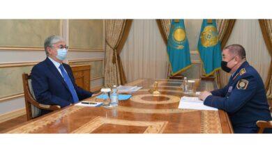 Photo of Мемлекет басшысы Ішкі істер министрін қабылдады