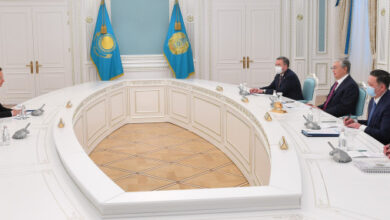 Photo of Президент Мажарстанның Сыртқы істер және сыртқы сауда министрін қабылдады