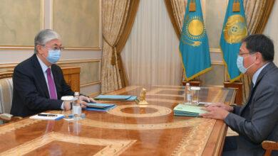 Photo of Қасым-Жомарт Тоқаев Ұлттық Банк Төрағасын қабылдады