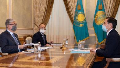 Photo of Мемлекет басшысы Марат Әзілхановты қабылдады