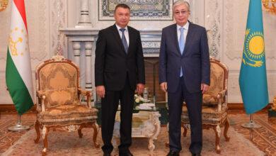 Photo of Президент Казахстана провел встречу с Премьер-министром Таджикистана