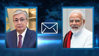 Photo of Президент направил телеграмму Премьер-министру Индии