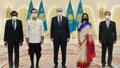 Photo of Президент принял верительные грамоты у послов ряда государств