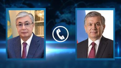 Photo of Состоялся телефонный разговор Главы государства  с Президентом Узбекистана