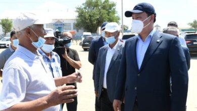 Photo of Ербол Карашукеев с рабочим визитом посетил Кызылординскую область