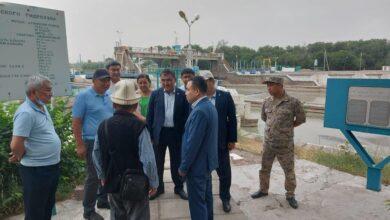 Photo of Вице-министр экологии посетил с рабочим  визитом Жамбылскую область