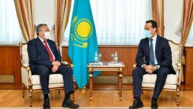 Photo of Глава МИД принял иностранных послов, завершивших свою дипмиссию в Казахстане