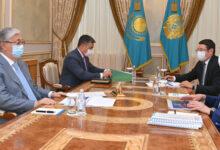 Photo of Президент «Самұрық-Қазына» АҚ басқарма төрағасын қабылдады
