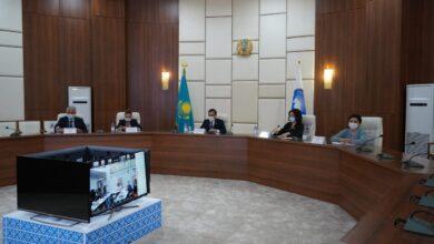 Photo of Онлайн-круглый стол АНК, посвященный Дню языков народа Казахстана, состоялся в Нур-Султане