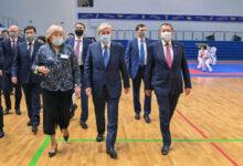 Photo of Вчера Касым-Жомарт Токаев посетил спорткомплекс «Халық Арена»